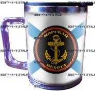 Термокружка Морская Пехота